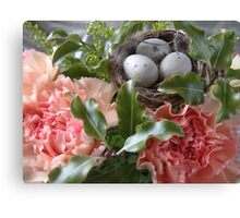 Easter eggs.... Canvas Print