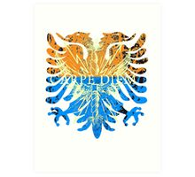 Carpe Diem Mythical Griffin Art Print