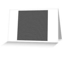 gray cubes  Greeting Card