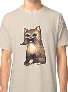 Mr. Whiskers: Moustache Cat Classic T-Shirt