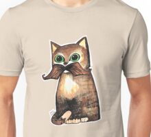 Mr. Whiskers: Moustache Cat Unisex T-Shirt