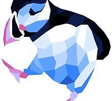 Shubie Ice Dancing Puffin by GCShubie