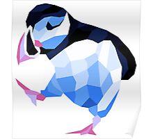 Shubie Ice Dancing Puffin Poster