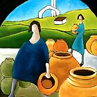 WOMEN WITH POTS by artistcain
