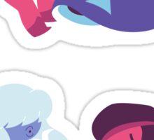 Ruby & Sapphire (Sticker) Sticker