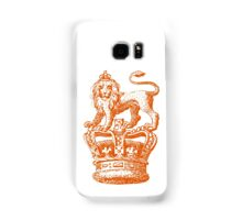 Lion & Crown Heraldry Blazon Samsung Galaxy Case/Skin