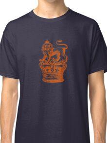 Lion & Crown Heraldry Blazon Classic T-Shirt