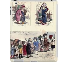 The Little Folks Painting book by George Weatherly and Kate Greenaway 0127 iPad Case/Skin