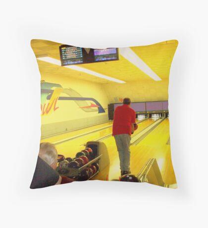 The Bowler Throw Pillow