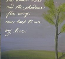 Romantic Song of Solomon quote  by Melissa Goza
