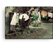 Housework is For People Who Don't Know How to Swing Canvas Print