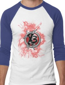 Times 3 - Fury Men's Baseball ¾ T-Shirt