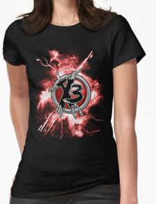 Times 3 - Fury Womens Fitted T-Shirt