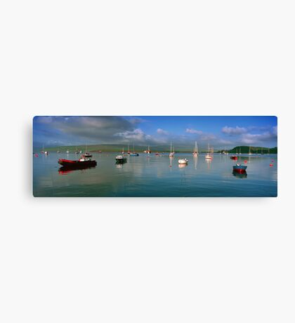 Tobermory harbour,Scotland Canvas Print