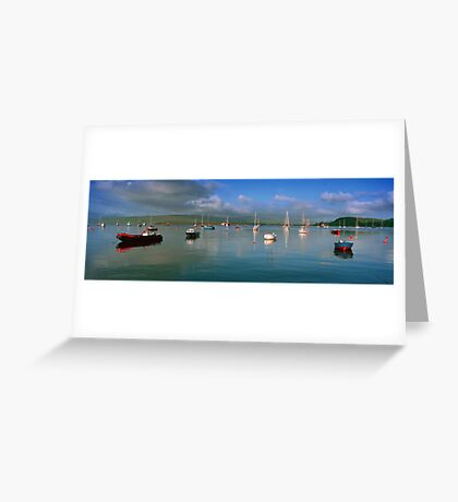 Tobermory harbour,Scotland Greeting Card