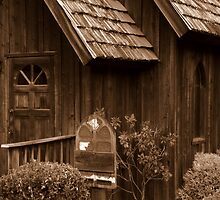 Little Country Church by artisandelimage