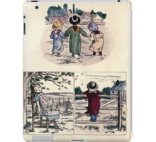 The Little Folks Painting book by George Weatherly and Kate Greenaway 0029 iPad Case/Skin
