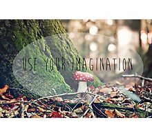 Use Your Imagination Photographic Print