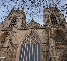 York Minster (front view) by Puddlejumper9