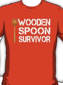 Wooden Spoon Survivor Funny Birthday Gift T-Shirt
