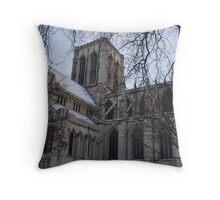 York Minster (side view) Throw Pillow