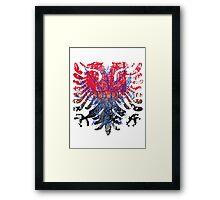 Carpe Diem Heraldry Crest Framed Print