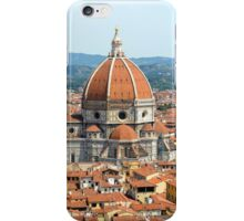 Approaching Il Duomo iPhone Case/Skin