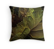 Peony - color altered Throw Pillow