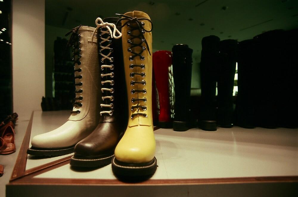 Boot Laces #2 by accozzaglia