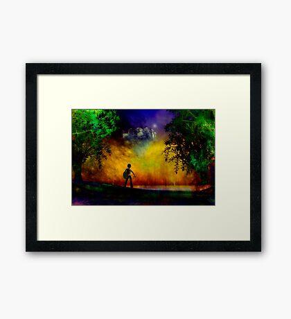 Quest Framed Print