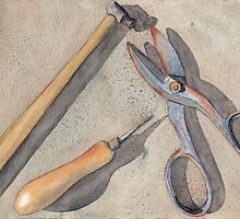Assorted Tools by Ken Powers
