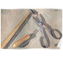 Assorted Tools Poster