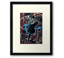 The beast within Framed Print