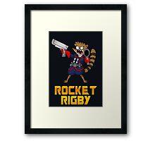 Rocket Rigby  Framed Print