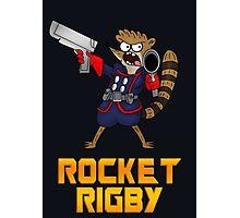 Rocket Rigby  Photographic Print