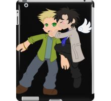 Destiel surprise kiss iPad Case/Skin