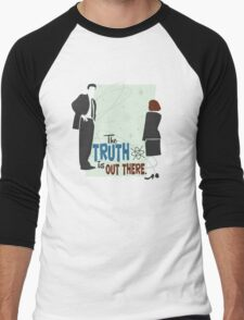 The Truth is Out There Men's Baseball ¾ T-Shirt