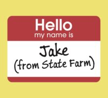 Jake from State Farm One Piece - Short Sleeve