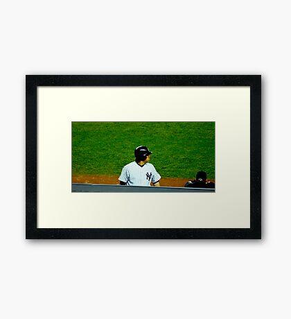 Yankee MVP Framed Print