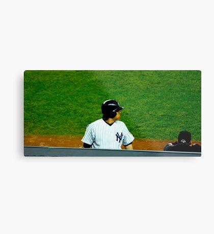 Yankee MVP Metal Print