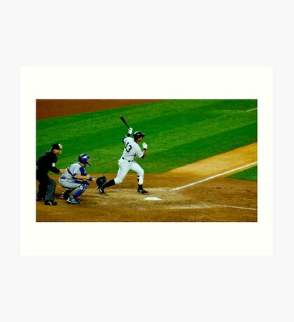 Yankee Hit Art Print