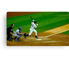 Yankee Hit Canvas Print