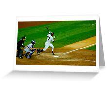 Yankee Hit Greeting Card