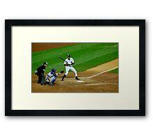 Yankee Strike Framed Print