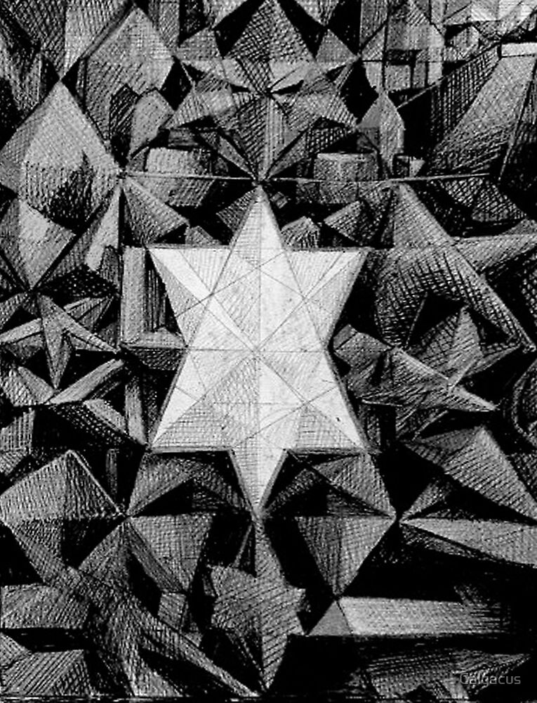deepening mystifications of the star pyramid  by Calgacus