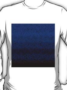 Deep Blue Crashed Stone T-Shirt
