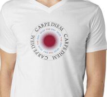 Carpe Diem seize the  Day Mens V-Neck T-Shirt