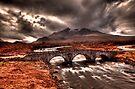 Sligachan Bridge by Roddy Atkinson