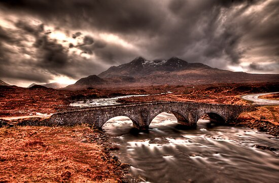 Sligachan Bridge by Roddy Atkinson