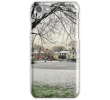 Frosty day at Norton Green iPhone Case/Skin
